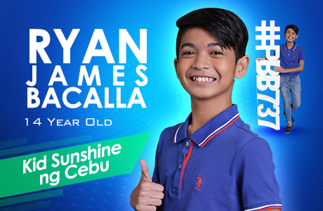 Kid Sunshine ng Cebu - Ryan James Bacallan