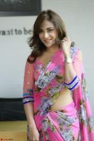 Angela Krislinzki Rogue Movie Fame Telugu Actress in Saree Backless Choli 100.JPG