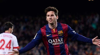 Lionel Messi (Net Worth: $ 350 Juta)