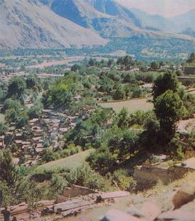 Foto Daerah pertanian di Lembah Chitral, Pakistan