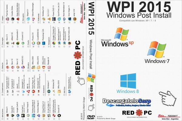 dESCARGAR WPI 2015 Windows Post Install Español