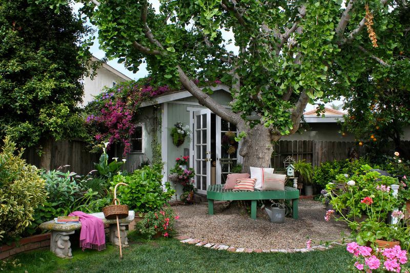 french garden house