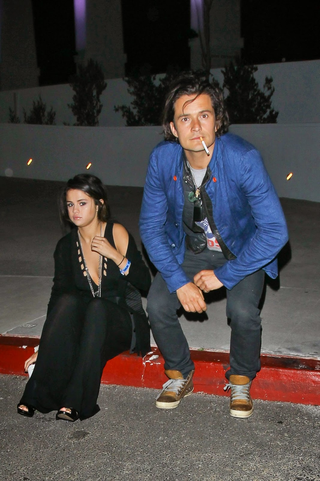 Selena Gomez spotted with Orlando Bloom in LA