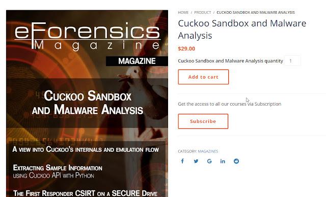 [Chia sẻ] Ebook Cuckoo Sandbox and Malware Analysis phiên bản mới nhất 2019 trị giá 30$ - CyberSec365.org