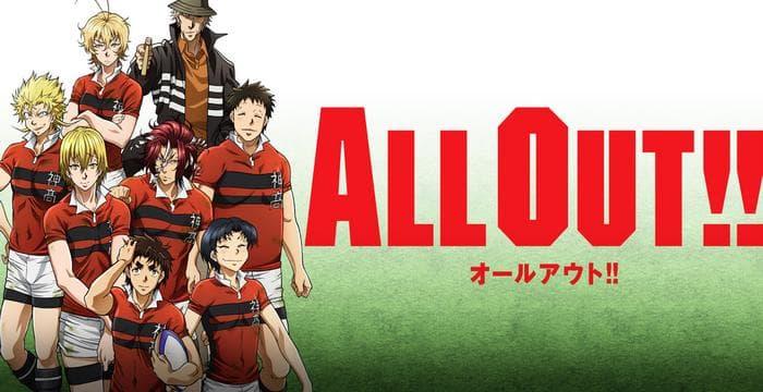 جميع حلقات انمي All Out!! مترجم على عدة سرفرات للتحميل والمشاهدة المباشرة أون لاين جودة عالية HD