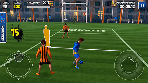 Free download Freestyle football 3D android apk games