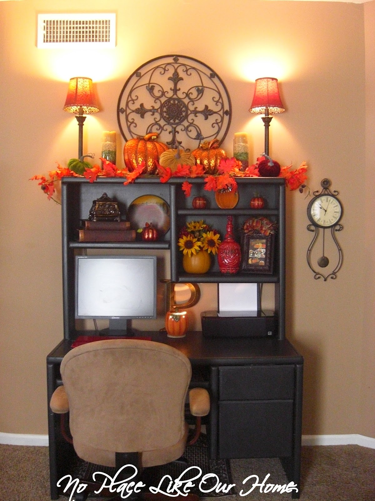 No Place Like Our Home Fall Decor