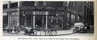 P J Evans - John Bright Street Birmingham in 1913