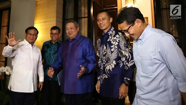 Tidak Main-main, SBY akan Jadi Jurkam Prabowo-Sandi di 150 Daerah