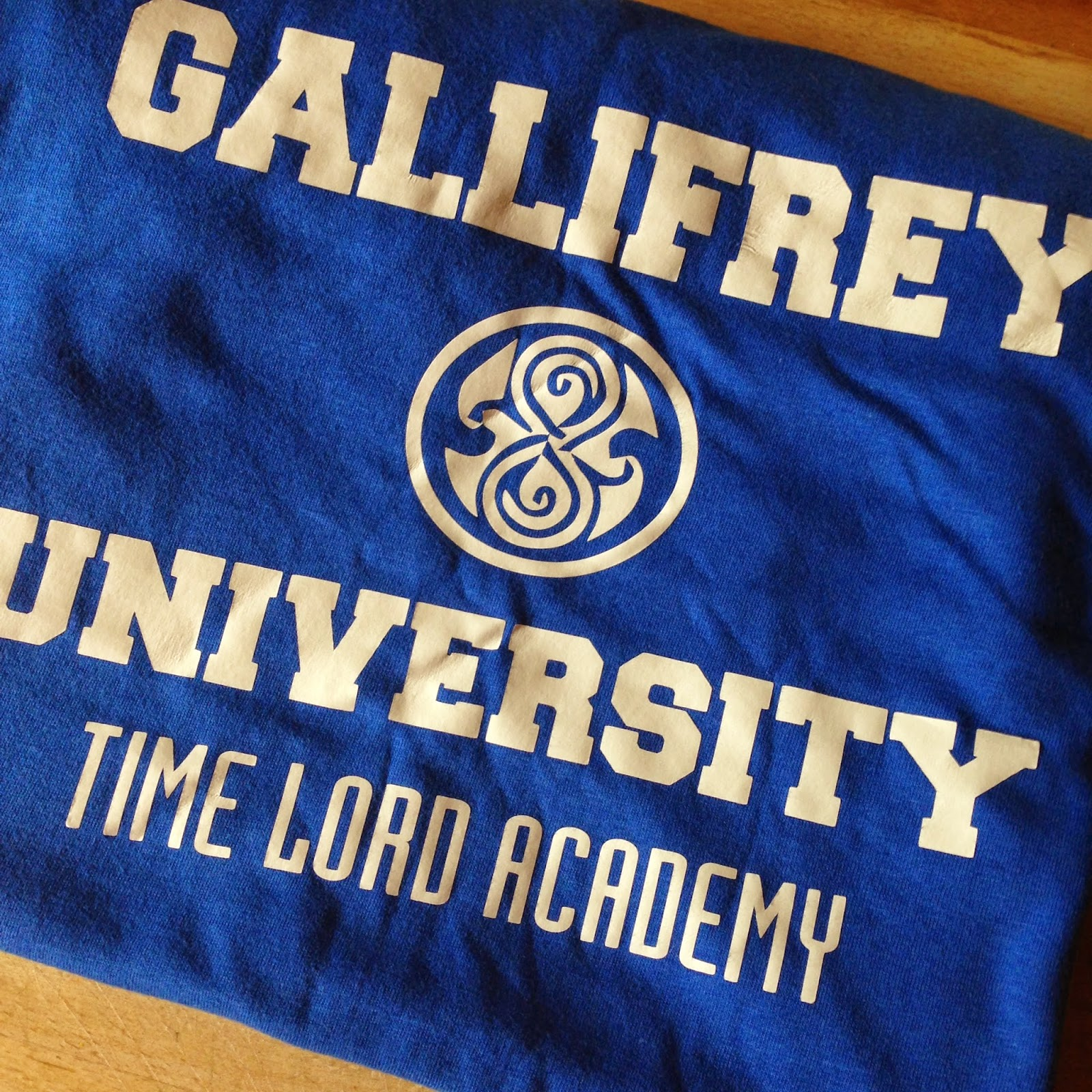 LFCC Winter Gallifrey University Tshirt