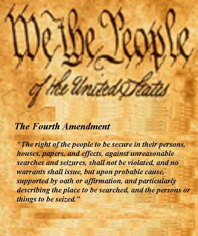 An analysis of the fourth amendment to the constitution