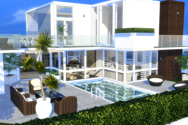 Citylife - Luxury-Penthouse   Cutesims4