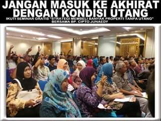 Jadwal Seminar Cipto Junaedy 2016 Jakarta