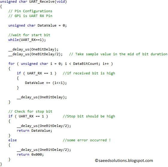 Uart code github
