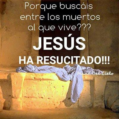 Jesus Ha Resucitado Imagenes Con Frases