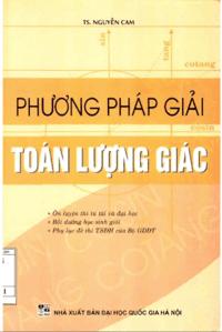 Phương Pháp Giải Toán Lượng Giác - Nguyễn Cam