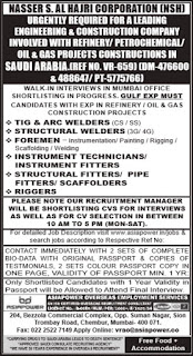 Job vacancies in NSH Company Saudi Arabia