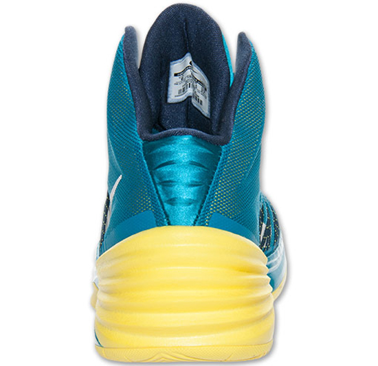 1e32519548c Nike Hyperdunk 2013 Tropical TealMidnight Navy-Wolf Grey Nike Hyperdunk  2013 Sonic YellowDark Grey-