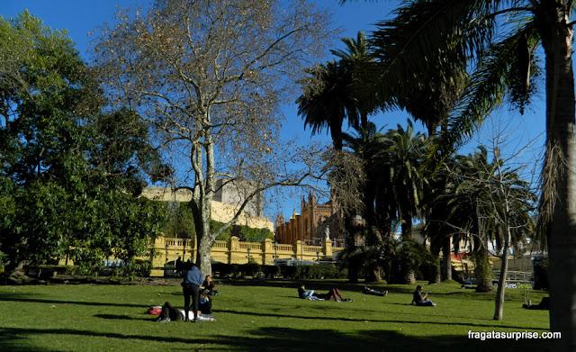 Plaza Francia, um jardim na Recoleta, Buenos Aires