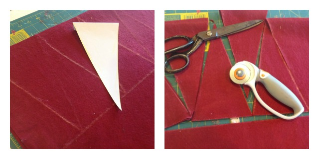 make vintage style pennant for sporting events