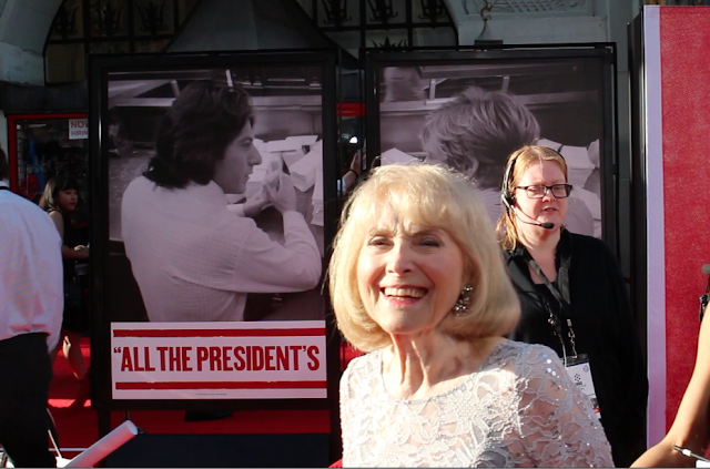 Lillian Michelson at the 2016 TCM Classic Film Festival Red Carpet