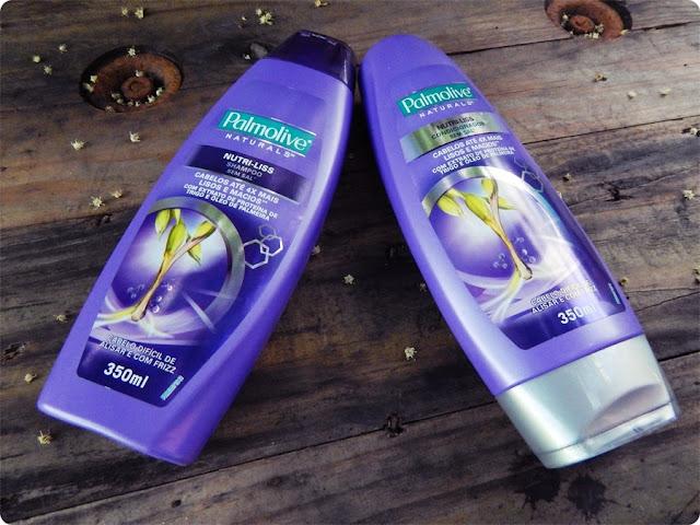 Shampoo e Condicionador Nutri Liss - Palmolive Naturals