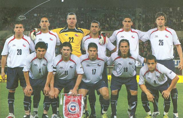 Formación de Chile ante Austria, Turnier der Kontinente 2007, 11 de septiembre