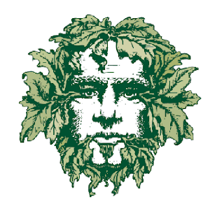 The Green Man (image courtesy of Big Bridge Design and Green Man Brewery