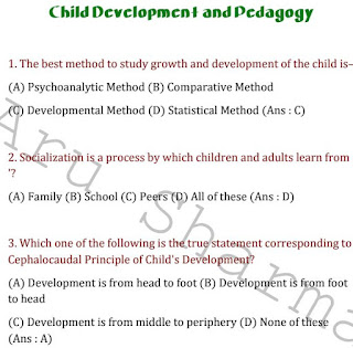 Child Development and Pedagogy