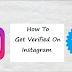 Bagaimana cara mendapatkan verified di instagram