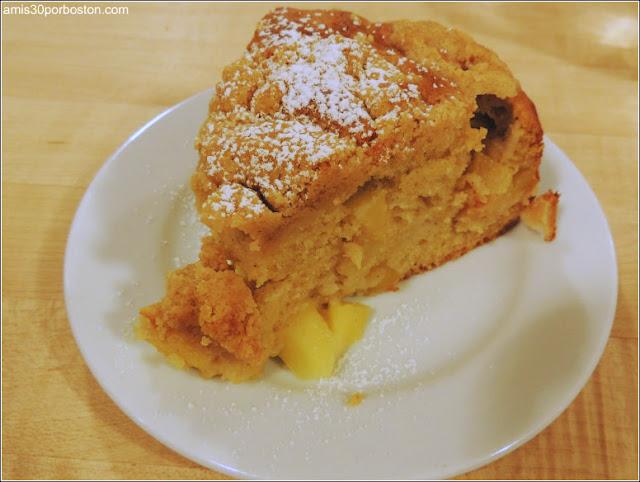Otoño en los Alpes: Spiced Apple Cake