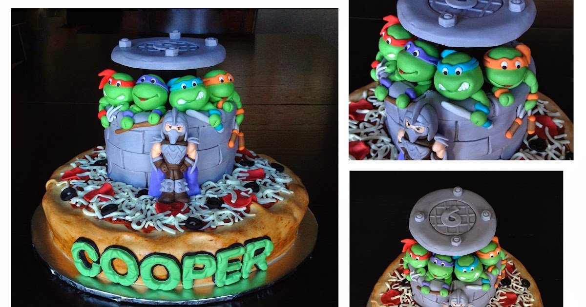 Custom Cakes By Julie Teenage Mutant Ninja Turtle Cake