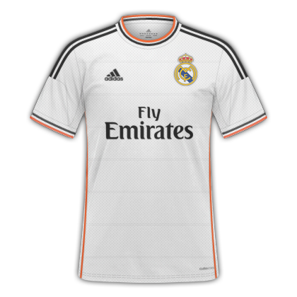 ac671aa1f5438 GT Camisas  Camisas Real Madrid 2013   2014 - Home