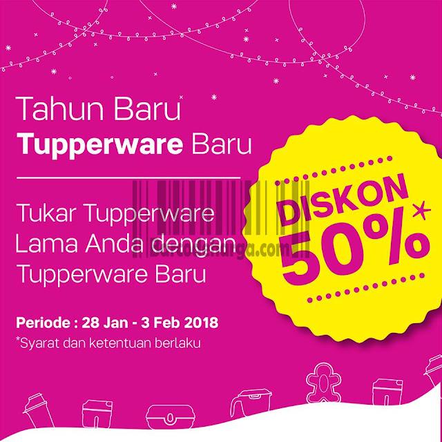 Promo Tupperware Edisi Tahun Baru 28 Januari - 3 Februari