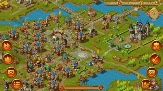 Game membangun kota Android offline dan online