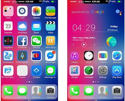 Cara Mengubah Tampilan Vivo Menjadi Iphone 10
