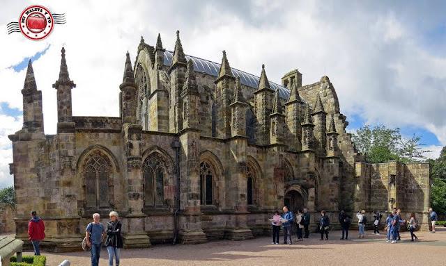 Escocia, Rosslyn Chapel