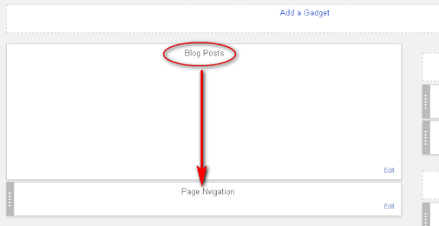 Customize Numbered Pagination Place in Your Blogger Blog