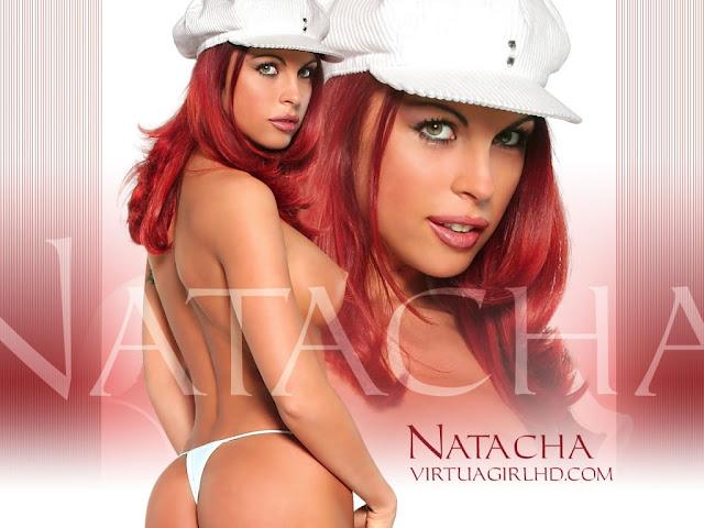 Natacha erotic girl tits wallpaper