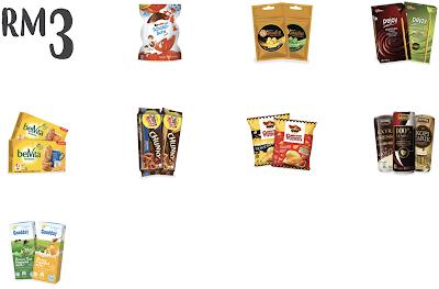 Kedai Mesra RM3 Drink Snack