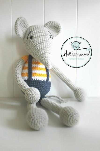 crochet mouse, szydełko, mysz na szydełku, crochet, amigurumi, zabawki szydełkowe, zabawki na szydełku, szydełkowanie, mysz