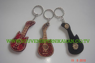 Souvenir Pernikahan Gantungan Kunci Batik Jogjakarta 3