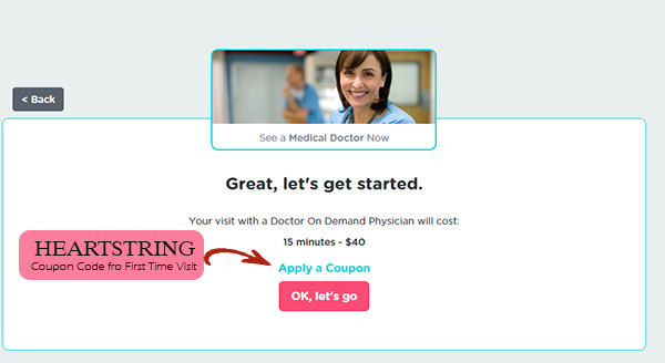 Doctor On Demand code