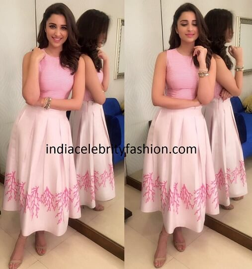 Parineeti Chopra in Plakinger Dress