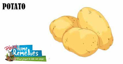 Home Remedies For Dark Circle: Potato