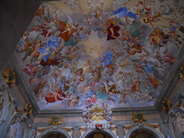 Affresco Cappella Sacro Monte Orta