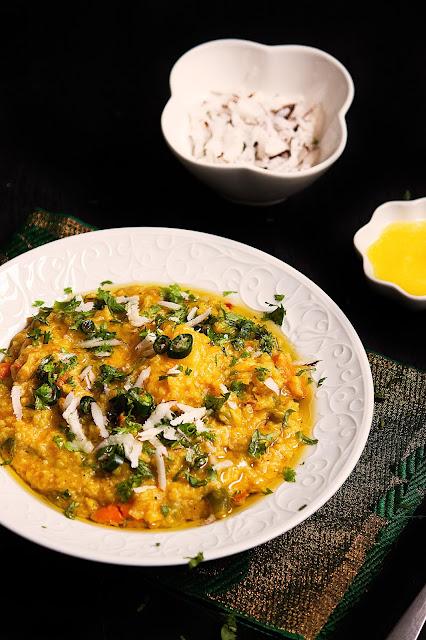pure vegetarian khichdi recipe