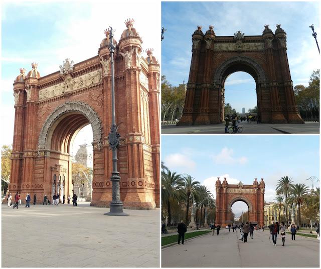 Onde ficar em Barcelona? Arc du Triomf