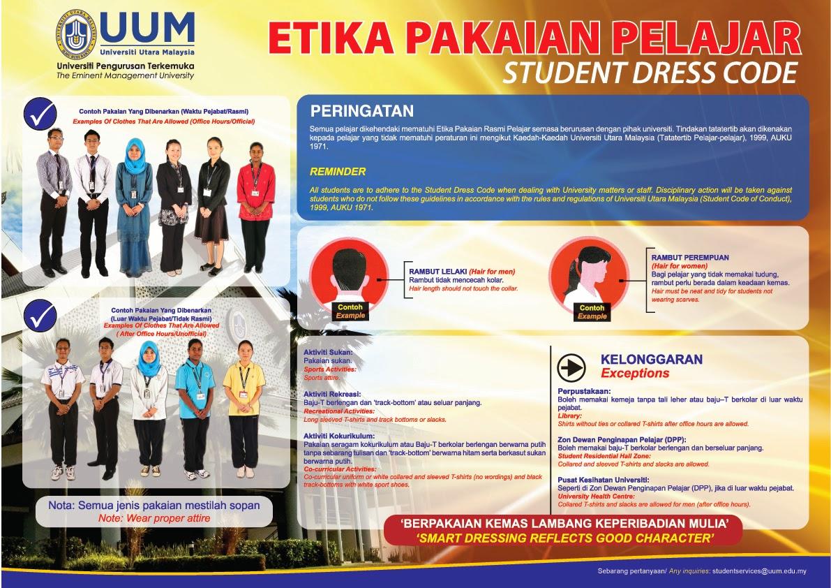 Promoting Uum Student Dress Code