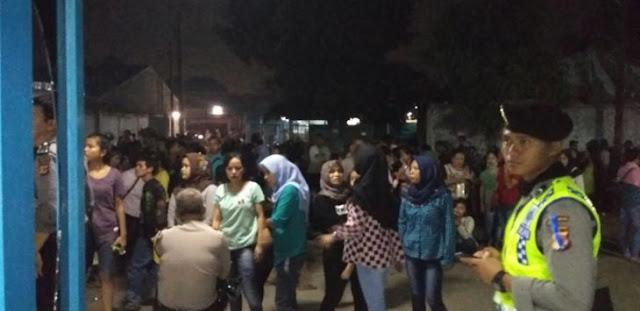 Mencekam! Ratusan Buruh Pabrik di Bogor Ngamuk Gara-gara THR Tak Dibayar